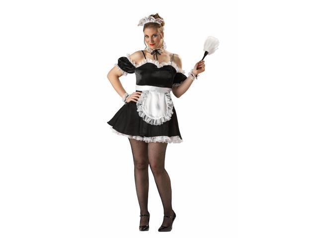 Oui Oui Sexy Maid Adult Costume X-Large
