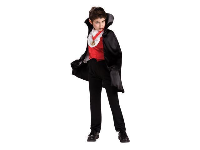 Transylvanian Vampire Dracula Costume Child Medium