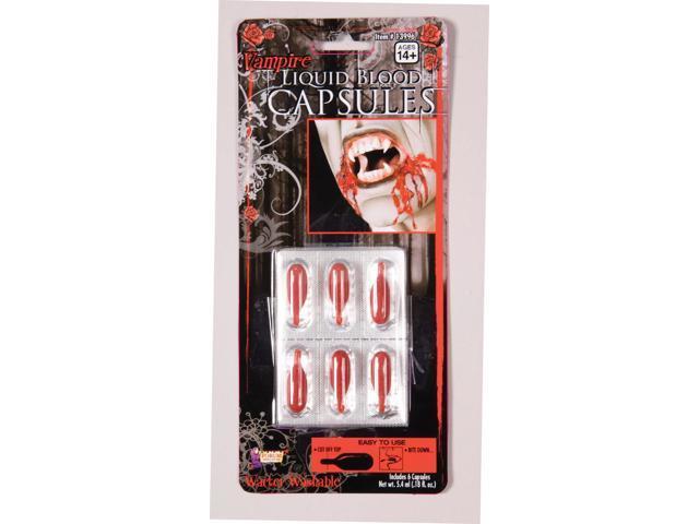 Liquid Costume Blood Capsules Kit