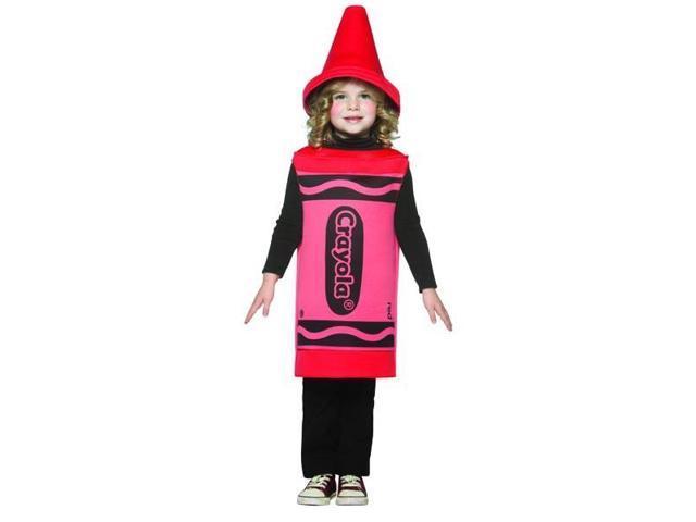 Red Crayola Crayon Child Costume 4-6X