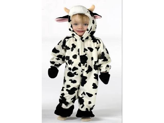 Fuzzy Tail Cow Costume Infant 6-12 Months