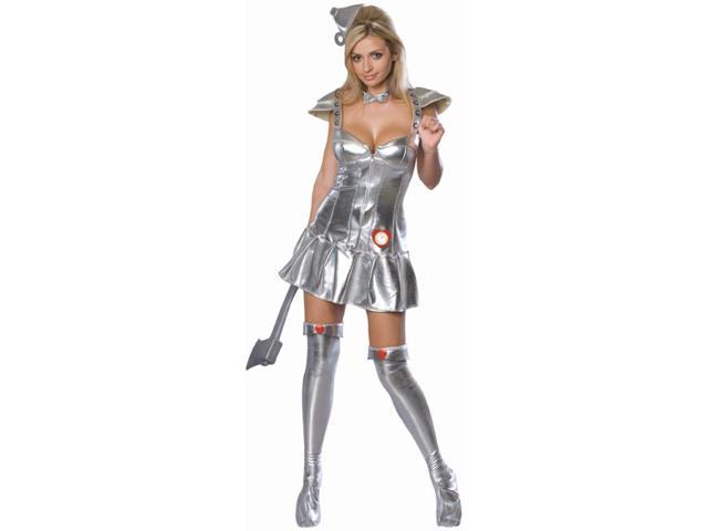 The Wizard Of Oz Sexy Tin Man Dress Costume Adult Small
