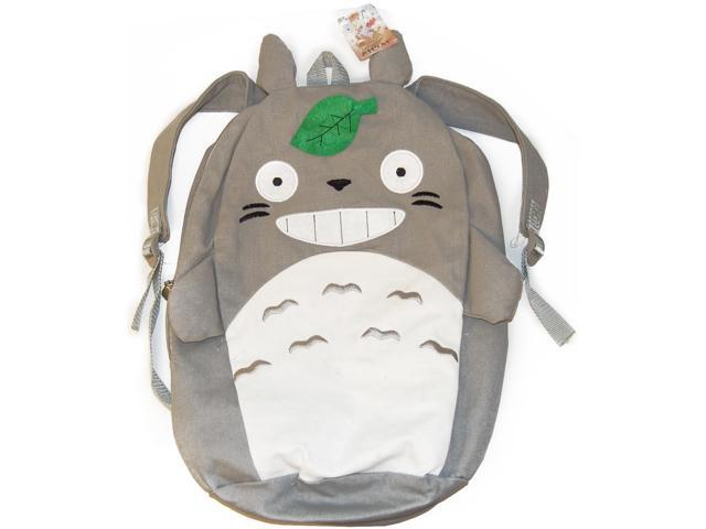 My Neighbor Totoro Gray Canvas Backpack