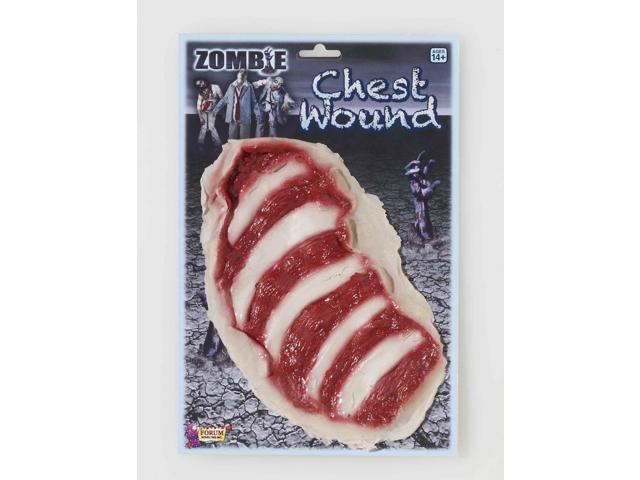 Zombie Chest Wound Costume Accessory