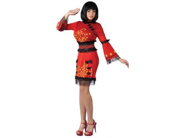 China Doll Costume Adult Small/Medium