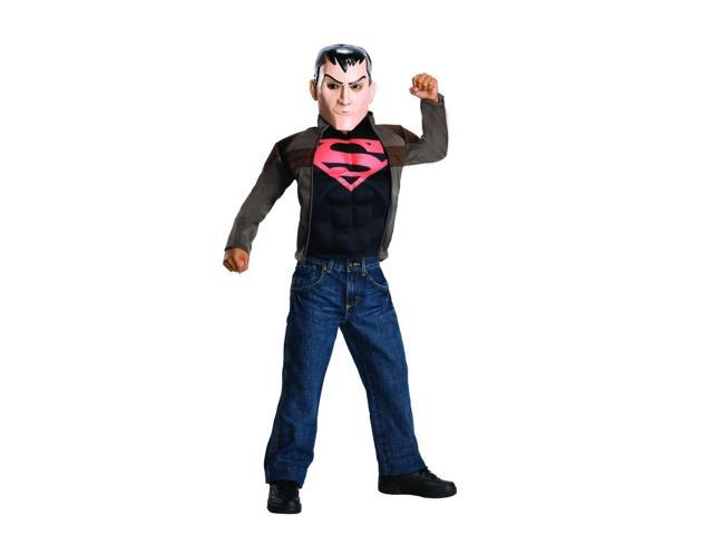 Young Justice Superboy Costume Child Large 12-14