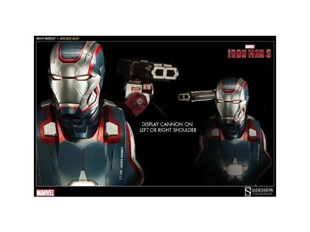 Iron Man 3 Life-Size Bust: Iron Patriot