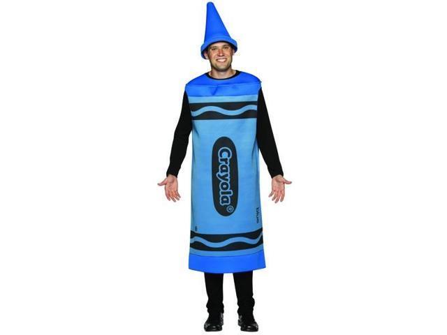 Blue Crayola Crayon Costume Adult Large/X-Large