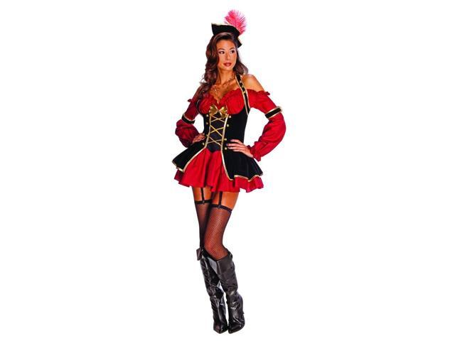 Sexy Pirate Booty Costume Adult Large 14-16