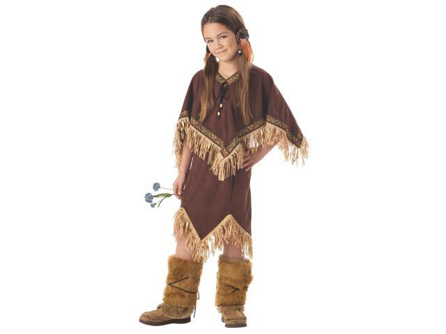 Native American Princess Costume Child Tween 10-12