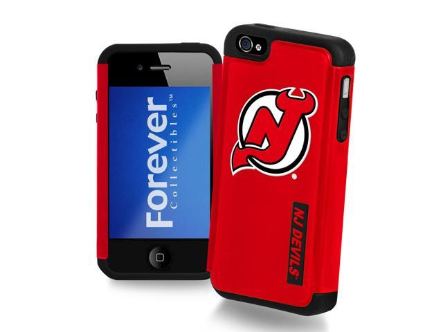 New Jersey Devils NHL Apple For iPhone 4 Dual Hybrid Case