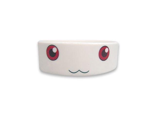 Madoka Magica Kyubey PVC Wristband