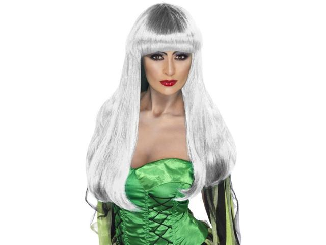 Glamour Witch Adult Costume Accessory Wig - White