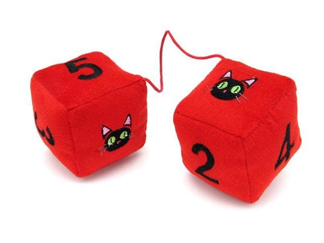 Trigun Kuroneko Plush Dice Danglers