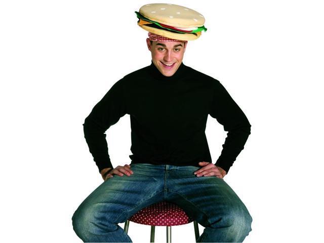 Cheeseburger Costume Hat