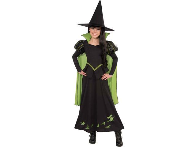 The Wizard Of Oz Wicked Witch Of The West Costume Child Large