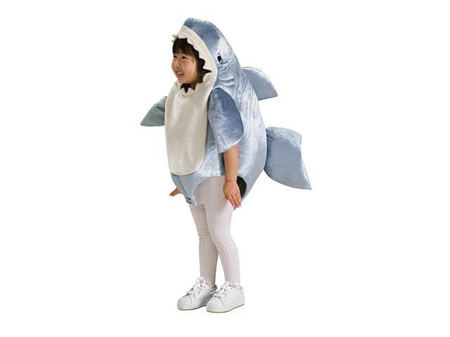 Great White Shark Romper Baby Costume 0-6 Months
