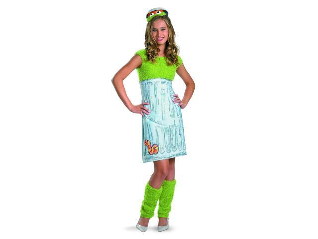 Sesame Street Oscar The Grouch Dress Costume Teen Teen 14-16