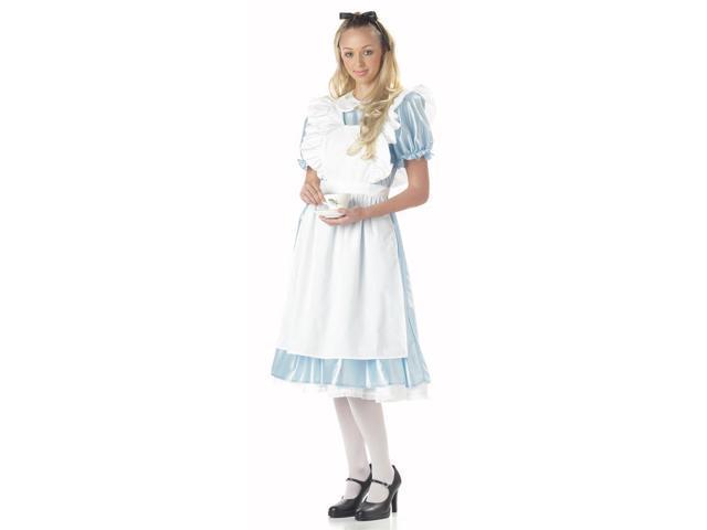 Alice In Wonderland Costume Adult Large