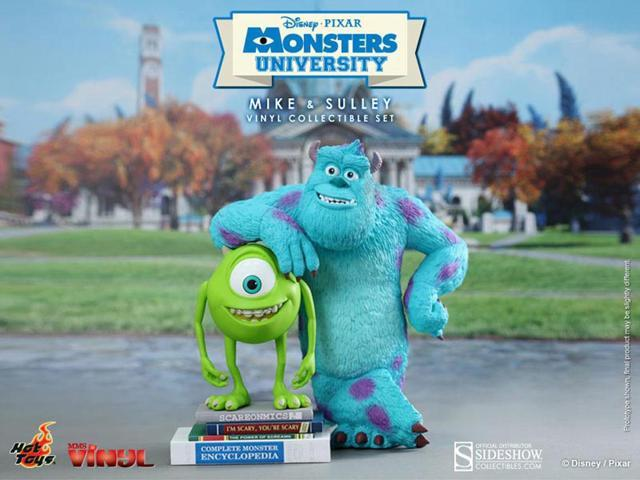 Monsters Universe Mike And Sulley Vinyl Figure Set By Hot Toys