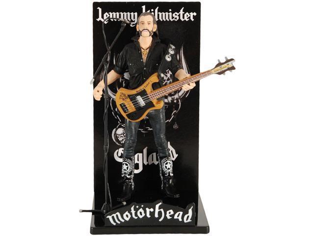 Motorhead Lemmy Kilmister Deluxe Figure Guitar Black Pickguard