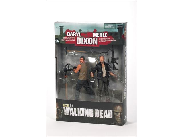 The Walking Dead TV Series 2 Pack Merle And Daryl Dixon
