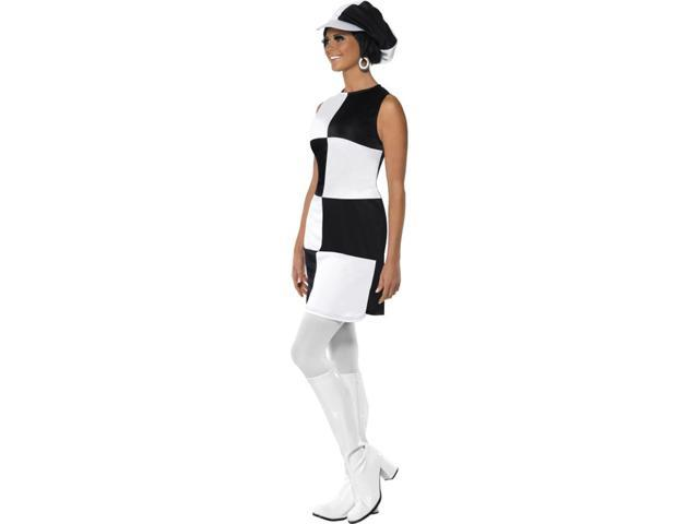 60's 70's Party Girl Costume Small