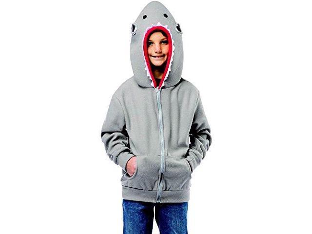 Shark Hoodie Child Costume 4-6X