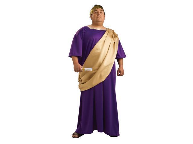 Roman Man Julius Caesar Robe Costume Adult Plus Plus Size