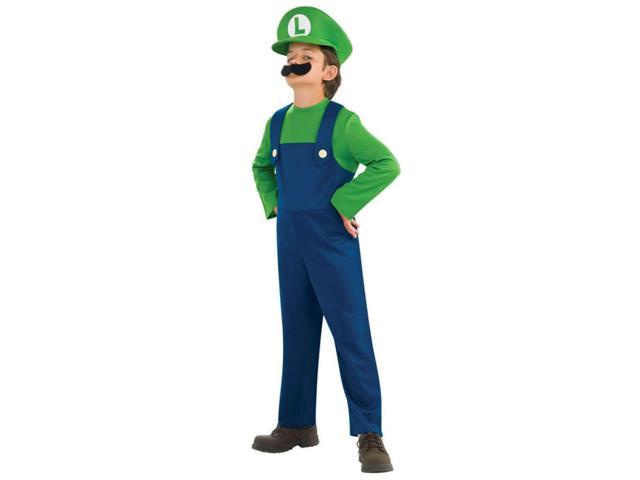Super Mario Bros Luigi Toddler Small