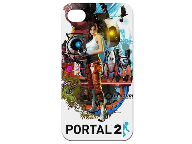 Portal 2 For iPhone 4 Poster Design Case