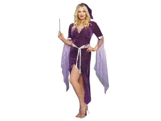 Sorcery & Seduction Sorcerer Adult Costume 1X/2X