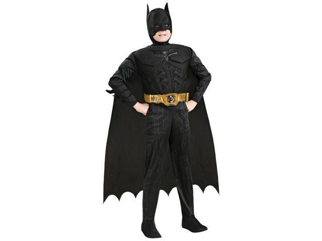 Batman Deluxe Muscle Chest Costume Child Small