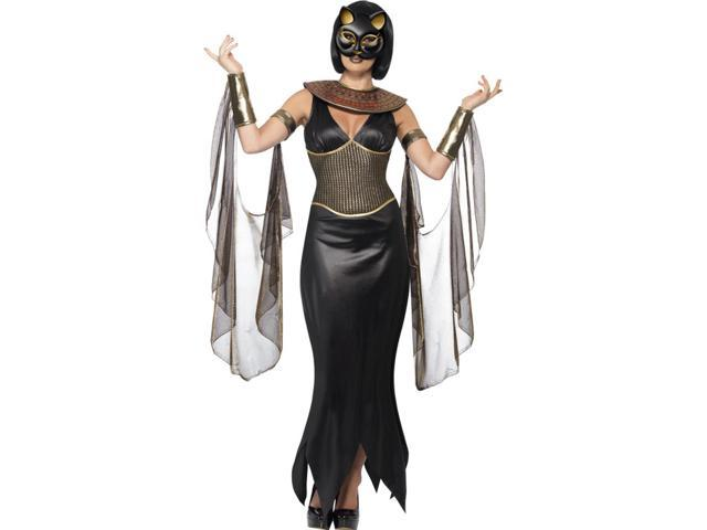 Mythical Egyptian Bastet Cat Goddess Adult Costume Large