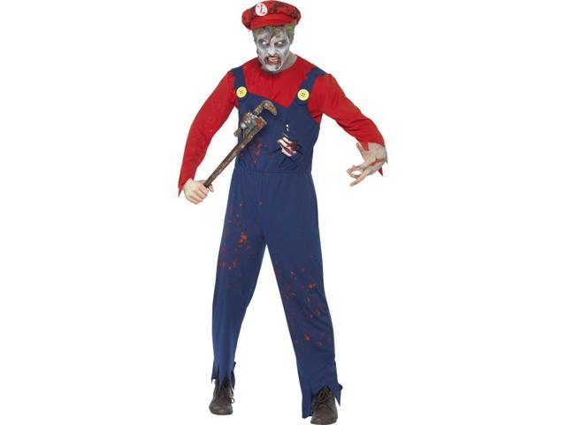 Zombie Plumber Adult Costume Large