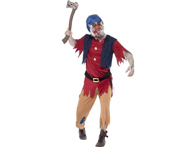 Zombie Dwarf Adult Costume Medium