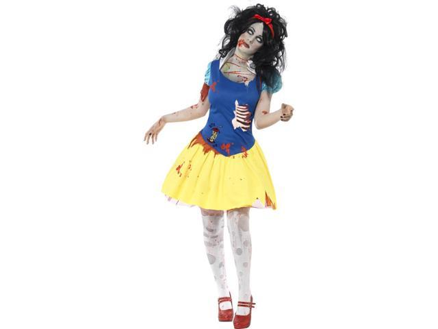 Zombie Snow White Fright Adult Costume Small