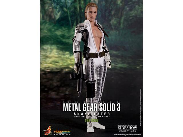 Metal Gear Solid Snake Eater The Boss Figure By Hot Toys