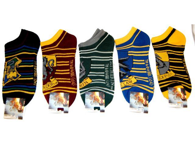 Harry Potter Crests Ankle Socks 5 Pair