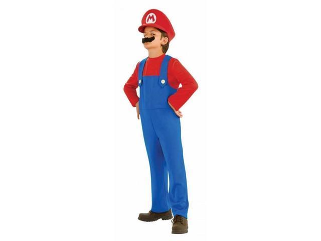 Super Mario Bros Mario Costume Toddler 2T-4T