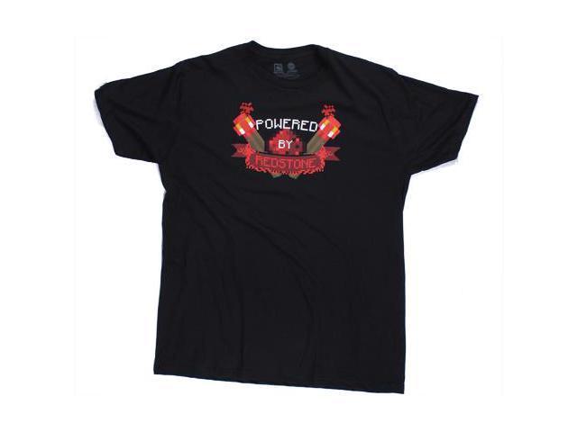 Minecraft Powered By Redstone Adult Premium T-Shirt