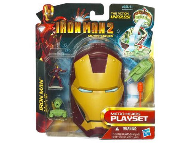 Iron Man 2 Micro Head Mark Iii Micro Heads Playset