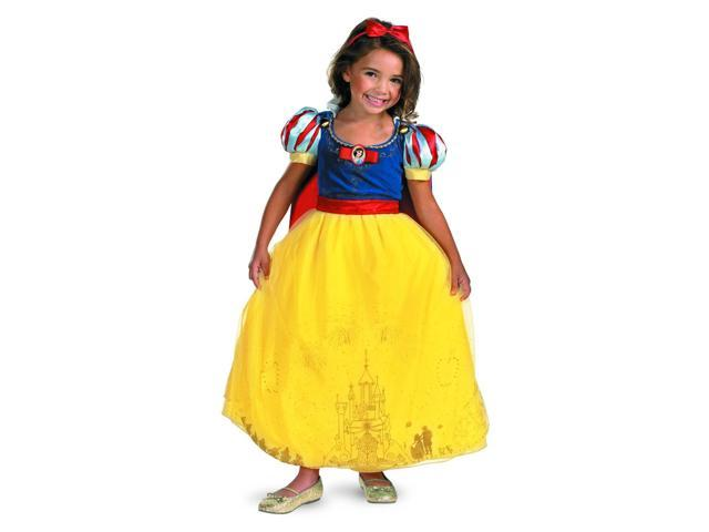 Disney Princess Storybook Snow White Costume Dress Toddler 4-6
