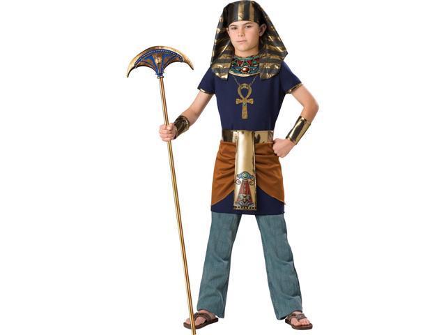 Pharaoh Deluxe Child Costume Medium 8