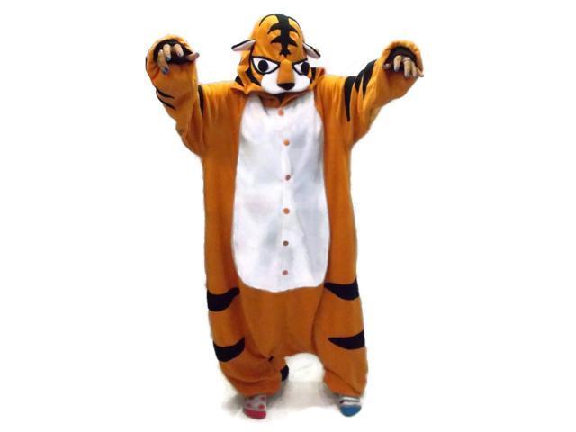 Tiger Kigurumi Cushzilla Animal Anime Costume Pajamas Child 2T-6 2T-6