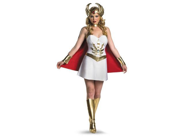 She Ra Deluxe Costume Dress Adult Large 12-14