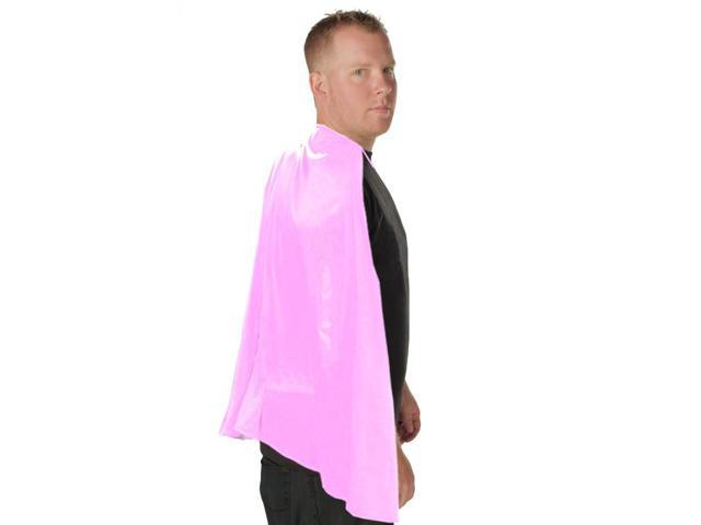 Deluxe Super Hero Costume Cape Pink One Size Fits Most
