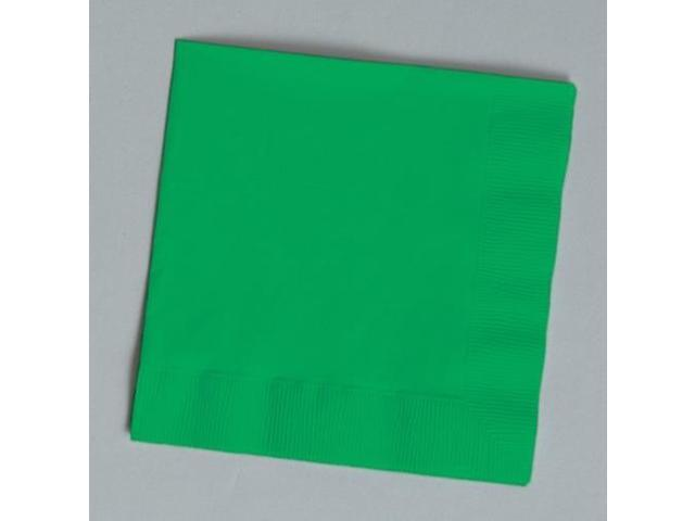 Touch of Color 150 Count Luncheon Napkins Emerald Green