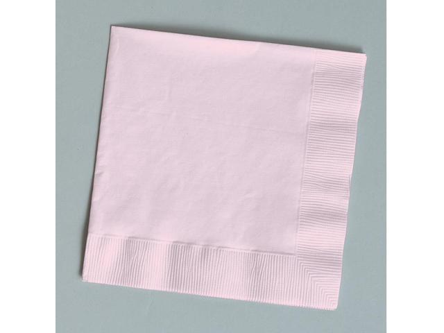 Touch Of Color 50 Count Beverage Napkins Classic Pink