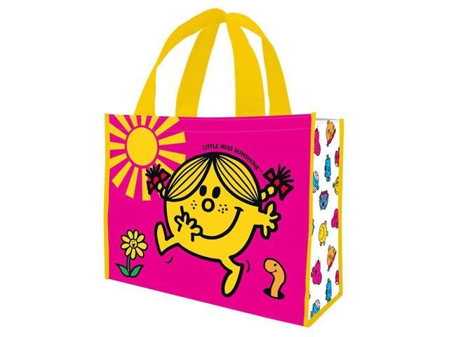Little Miss Sunshine Large Recycled Shopping Tote Bag